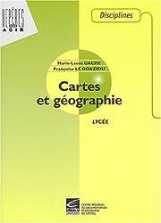 Cartes et géographie : Lycée