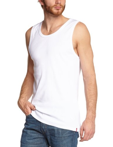 Levi's® Herren 2-er Pack Tanktop Weiß (White)