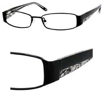 Jlo montatura occhiali da vista 245 0003 nero 53mm amazon for Amazon occhiali da vista