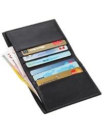 Lucrin - Etui für Kreditkarten und Geldscheine - Glattleder