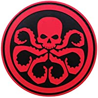 Cobra Tactical Solutions PVC Patch Marvel Avengers Hydra with Hook & Loop for Cosplay/Airsoft / Paintball