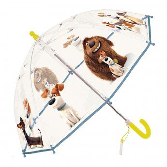 Preisvergleich Produktbild Secret Life of Pets Kinofilm Regenschirm Stockschirm