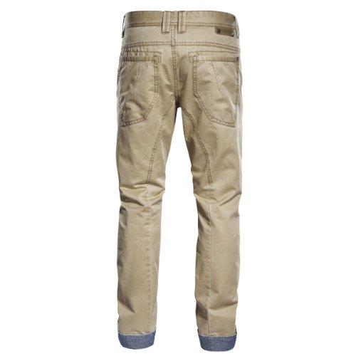 Timezone - 26-0248 - Pantalon - Homme Beige (6036 Sand))
