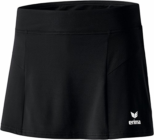 Erima Damen Beinkleid Performance Skirt Röcke, Schwarz, 38