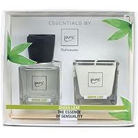 ipuro green leaf 50ml Raumduft + 35g Duftkerze preisvergleich bei billige-tabletten.eu