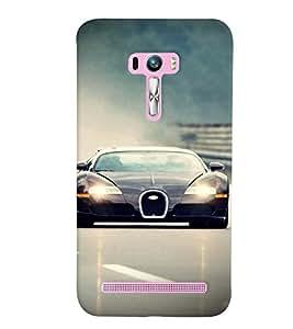 GADGET LOOKS PRINTED BACK COVER FOR Asus Zenfone 2 Selfie MULTICOLOR