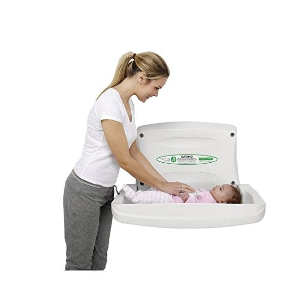 Magrini Horizontal Baby Changer Colour: White. Magrini Colour: White. Hygienic & easy to clean. Hinge construction eliminates finger traps. 1