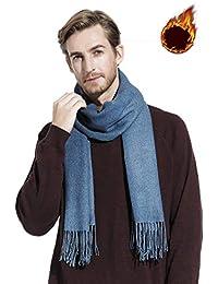 Gogogoal Écharpe en cachemire Châle Pashmina foulard Femme Homme, Longug,  Chaleureux, grande 80 5e530d27d76