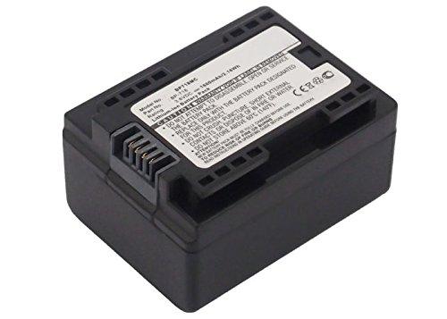 subtel® Qualitäts Akku für Canon LEGRIA HF R306, HF R506, HF R57, HF R606, HF R706, VIXIA HF R52 (1600mAh) BP-718,BP-727 Ersatzakku Batterie