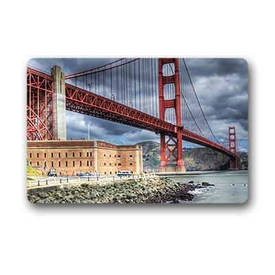 Dalliy ' Golden Gate Bridge Fu?Alfombrillas Doormat Outdoor Indoor 18