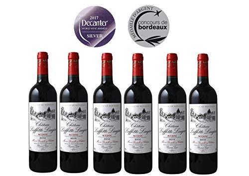 CHATEAU LAFFITTE LAUJAC - Grand Vin Rouge Bordeaux - Cru Bourgeois in 1932- AOP Médoc 2014-6 bottles Pack