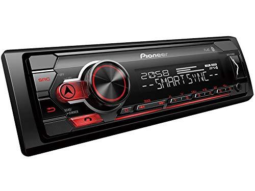 Pioneer-MVH-S310BT-1-DIN-Autoradio-mit-Bluetooth-ohne-CD-Laufwerk-Shortbody-fr-Mini-Cooper-S-R53-2003-2006-schwarz