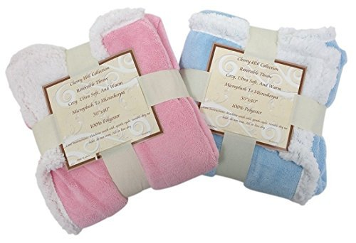 super-soft-baby-blanket-reversible-sherpa-microplush-30-x-40-pink-by-cherry-hill-colletion