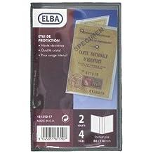 ELBA 100207179 Visitenkartenbuch Tout Terrain 1 St/ück f/ür 240 Visitenkarten schwarz outdoor geeignet