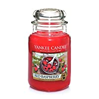 Yankee Candles Grande Jar Candle - Lampone rosso - Yankee Candles Large Jar Candle - Red Raspberry