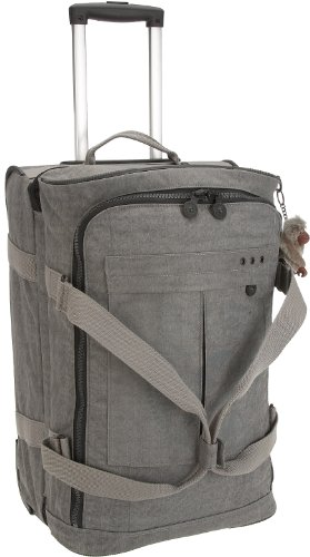 Kipling Bolsa de viaje, color gris, talla