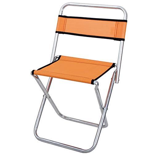 ng Stuhl Leichte Aluminium Material Mini Stuhl Tragbare Outdoor Hocker Angeln Wandern Camping Picknick Reise ()