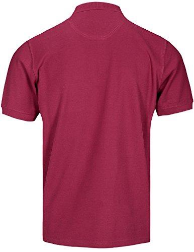 Basefield Herren Piqué Poloshirt - Schwarz (219011523) 406 BERRY