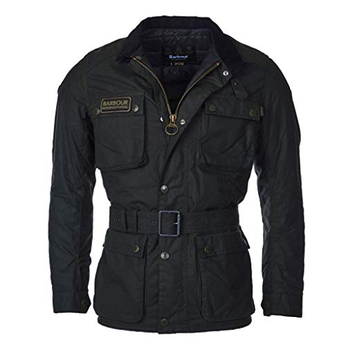 Barbour Giacca moto cerata International Blackwell Wax Jacket
