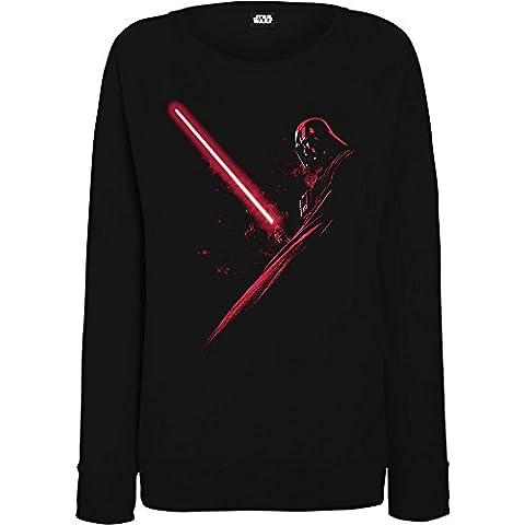 Star Wars mujer Darth Vader Shadow Camisa de entrenamiento