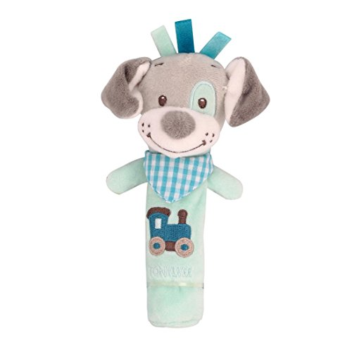LCLrute New Hohe Qualität Kinder Spielzeugtiere läuten Glocken Tiere Hand Glocken Musical Baby Soft Toys Entwicklungs Rassel Bett Kinder (A)