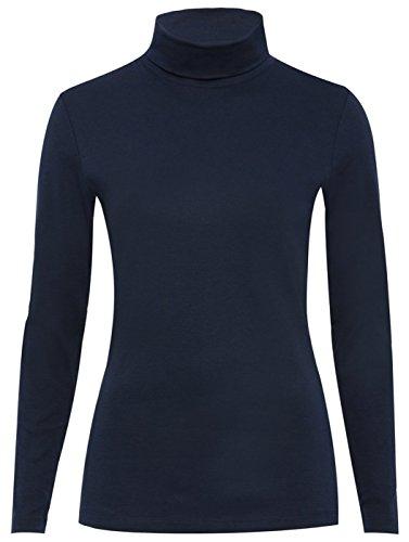 Glossy Look -  Maglione  - Basic - Maniche lunghe  - Donna blu navy