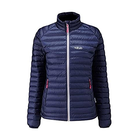 Rab Women's Microlight Jacket - Twilight/Fuchsia, 14