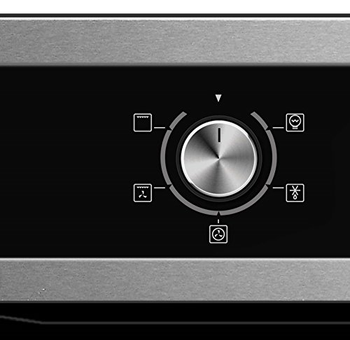41A6Gtsa56L - Cookology Built-in Electric Single Fan Oven in Stainless Steel with Programmable Timer & Digital Clock | COF605SS