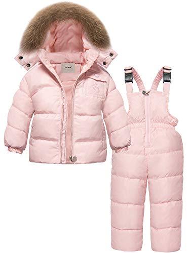 ZOEREA unisex tuta da sci per bambino piumino bambino invernale giacca bambina snowsuit snowboard piumino leggero sci giacche completo da...