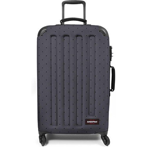 Eastpak - Maleta gris Dot Grey Check-in