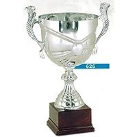 TROFEO COPPA PER PREMIAZIONI SPORTIVE - H CM 22 D CM 10 - RIFINITA - MADE IN ITALY - 10 Trofeo Coppa