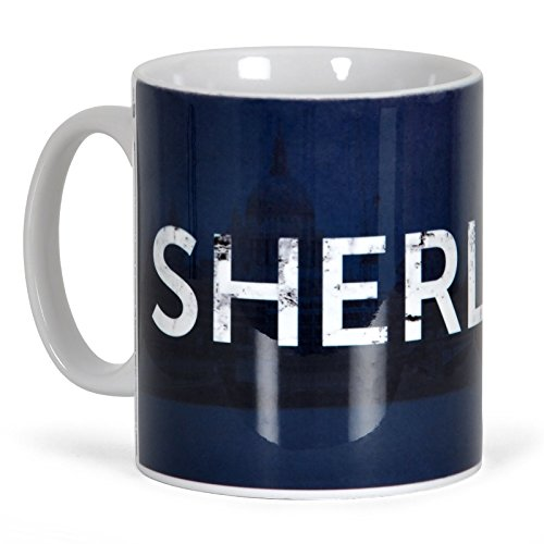 GB eye, Sherlock, Logo, Tazza