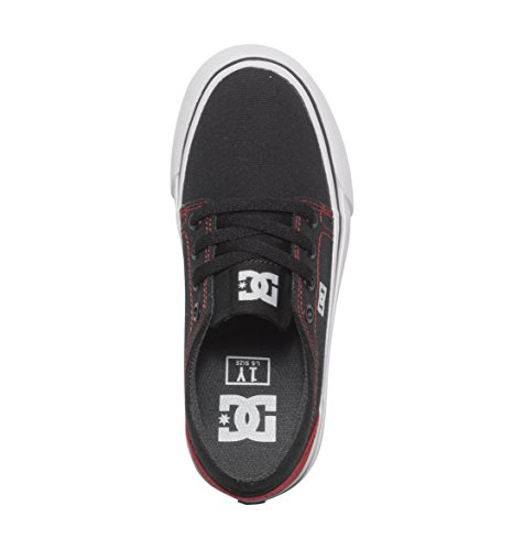 DC Shoes Jungen Trase Tx B Sneaker Schwarz/ Rot