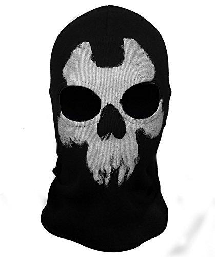 Hakkin Halstuch / Maske / Sturmhaube Ghost–mit Totenkopfmotiv, Couleur7