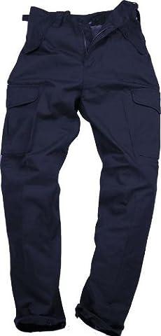 Blue Castle Mens Plain Combat Trousers - Size: 44, Colour: Navy, Lenght: 29
