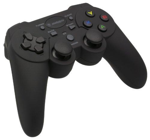 Manette sans fil noire pour PS3/PC