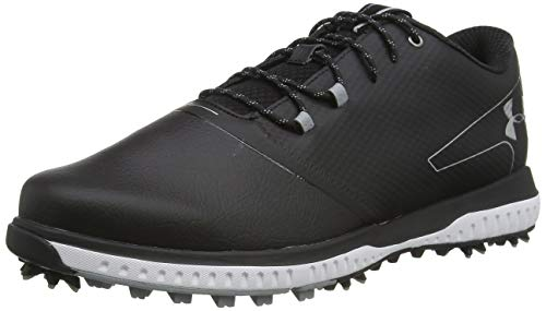 Under Armour Herren Fade Rst 2 E Golfschuhe, Schwarz (Black/ Steel/ Metallic Silver (001) 001), 43 EU