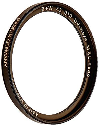 B+W UV-Haze- und Schutz-Filter (43mm, MRC Nano, XS-Pro, 16x vergütet, slim, Premium) (43mm Filter)