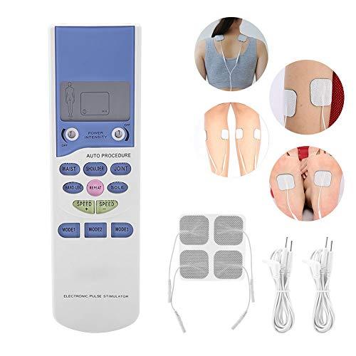 Electroestimulador Muscular Masajeador Electrico Reducir