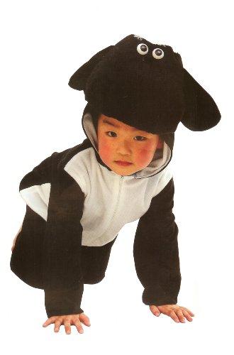 Imagen de fun play disfraz animal oveja negra para niño animal onesie oveja negra para niños 3 5 años talla m