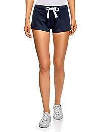 b782bb628d22 oodji Ultra Donna Pantaloncini Basic in Maglia (Pacco di 5)