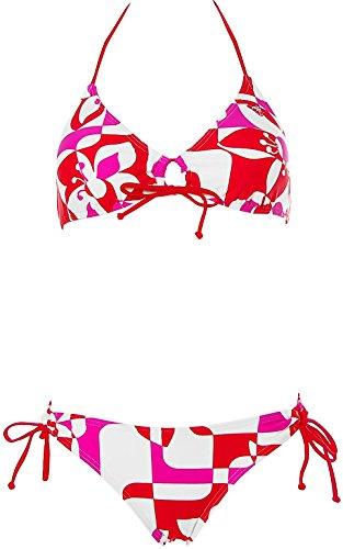 Roxy Damen Neckholder Bikini Rot