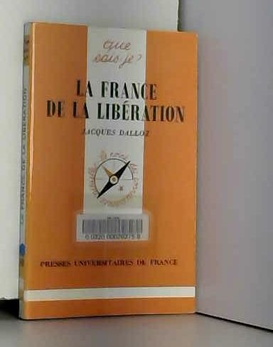 La France de la Libération : 1944-1946