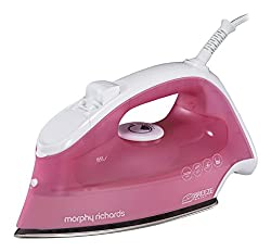 Pink: Morphy Richards 300280 Breeze Steam Iron, 2400 W, Pink