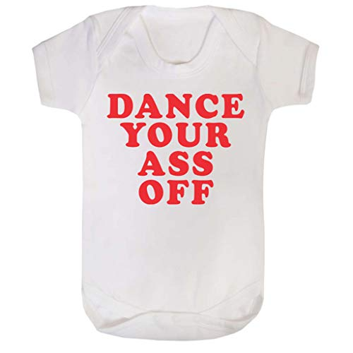 Cloud City 7 Footloose Dance Your Ass Off Baby Grow Short ()