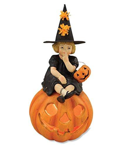 Bethany Lowe TD2285 Halloween-Skylar auf Kürbis -