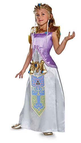 cess Zelda Deluxe Costume Child X-Large 14-16 (Legend Of Zelda Kostüm Zubehör)
