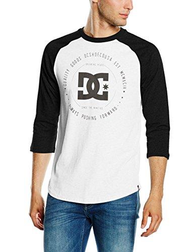 Snow White Rebuilt2 DC Shoes-T-Shirt da uomo, taglia: L (taglia del produttore: L)