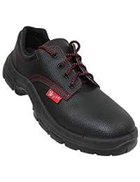 Zapatos de Seguridad PSH S2 Ci HI Zapatos de Trekking Plana Negro Trabajan