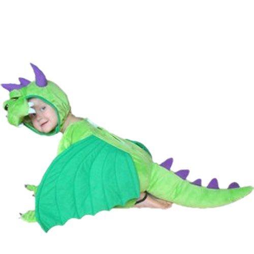 Sy20 Taglia 2-3A (92-98cm) Costume da Drago per bambini e neonati, indossabile comodamente sui vestiti (Drago Bambino Costume)